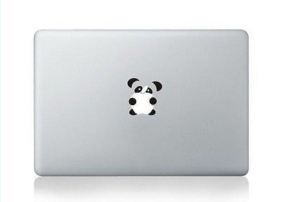 Vinyl Panda (Bargain Max Decals Panda Apple Macbook Air/Pro/Retina 13