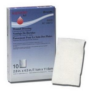 Alimed KALTOSTAT Calcium Sodium Alginate Dressing 3'' x 4-3/4'' [Box Of 10]