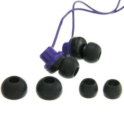 Purple JVC Riptidz Inner-Ear Earbuds Headphones ( 100 PACK ) BY NETCNA