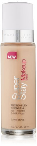 (Maybelline New York Super Stay 24Hr Makeup, Sand Beige, 1 Fluid Ounce )