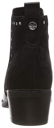 21 Femme Caprice 9 Botines Comb Noir 019 25420 black 9 19 SSTwqtF