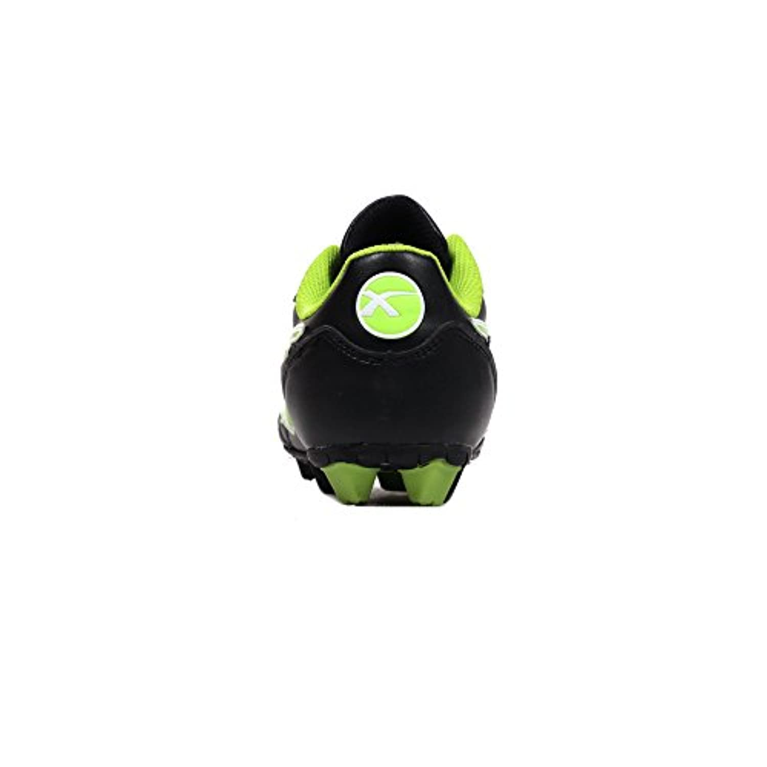 X Blades Young Legend Kids Rugby Boot Shoe Black/ Green - UK 2