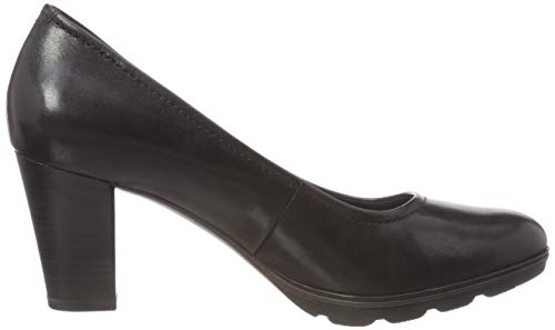 black Donna 21 Scarpe Con 22425 Tacco Tamaris 1 Nero HqF0xw