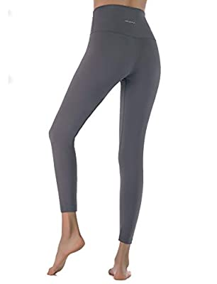 MOYOOGA Womens High Waisted Capri Leggings Workout Tight Yoga Pants Squat-Proof 25""