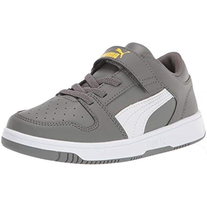 PUMA Unisex-Child Rebound Sneaker