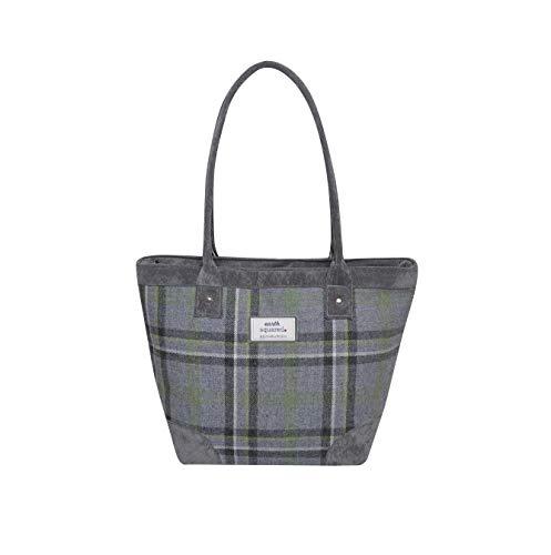 2018 Bag Tweed Handbag Grey Squared Trade Earth Aw Fair Storm Tote by gUqwHTg