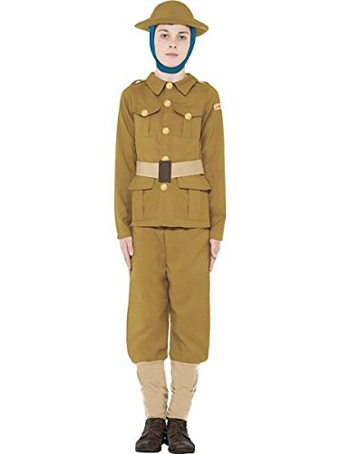 Horrible Histories WWI Boy Costume - Small (Halloween History Costumes)