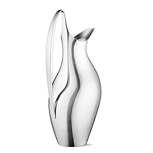 Georg Jensen Georg Jensen Henning Koppel Polished Steel Pitcher by Georg Jensen (Image #2)