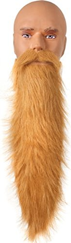 Blonde ZZ Top Adult Costume Beard One Size ()