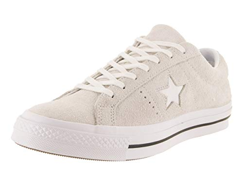 - Converse Unisex One Star Ox White/White/White Casual Shoe 5 Men US / 7 Women US