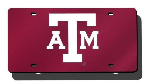 Rico Laser cut Auto Tag, Texas A&M Aggies , 6 x 12 ()