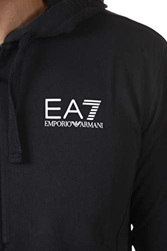 Zip Armani Blu Ea7 Con Emporio Felpa Iw8BCqTTxn