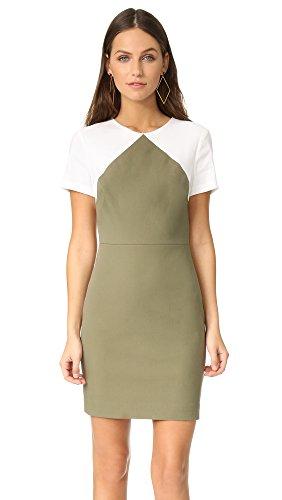 diane-von-furstenberg-womens-short-sleeve-tailored-sheath-dress-khaki-green-white-0