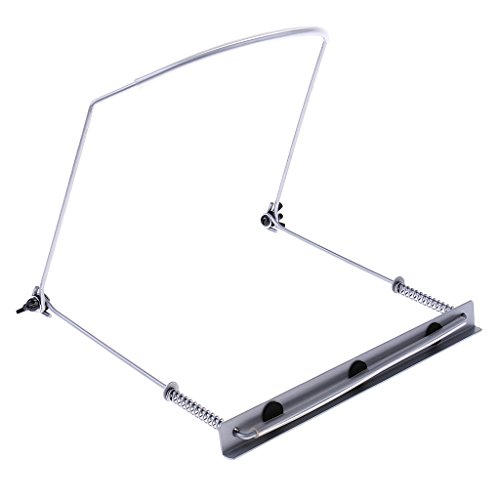 MagiDeal Metal 24 Hole Harmonica Neck Holder Stand Support Rack Portable for Practice