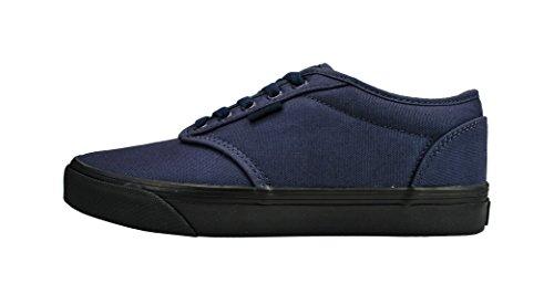 Scarpe Uomo Atwood Blu Navy / Nero Check Liner Moda Scarpe Da Ginnastica Da Skate