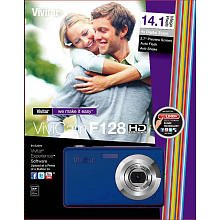 Vivicam F128 Hd 14.1 Mega Pixels Digital Camera Blue