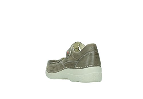 Wolky Comfort Mary Janes 06247 Roll Fever 30150 taupe leather O2Eqhyi0fk