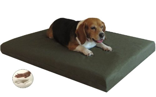 45JPX2 Quantity =2 Memory Foam Dog Bed for Medium to Large P