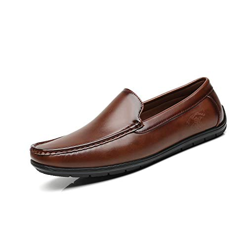 Beverly Hills Polo Club Men's Loafers Driving Boat Shoes Slip-on Moccasins Comfortable Classic Casual Shoes for Men