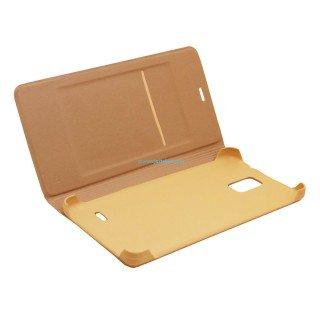Realtech Tread Finishing Leather Premium Flip Cover for Motorola Moto G5 Plus   Gold Mobile Accessories
