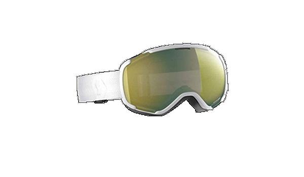White Gr/ö/ße One Size Skibrille Enhancer Silver Chrome Scott Faze II Goggle Grau-Schwarz Farbe Team Black