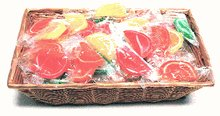 DiabeticFriendly's Gift Basket Filled with 3 lbs of Sugar Free Fruit Slices by Diabetic Friendly