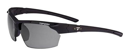 Tifosi OPTICS JET SUNGLASSES MATTE BLACK SMOKE (Jet Golf Sunglasses)