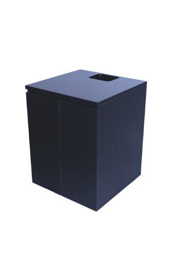 50 Gallon Black Cabinet 24 L x 24 W x 32'' H (Black) by SC Aquariums