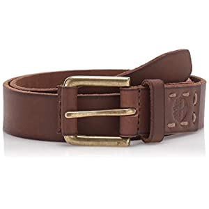 Timberland Boys' Big Leather Belt for Kids
