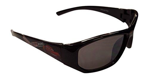 Disney Cars Black Nitro Sunglasses - 100% UVA & UVB Protection -