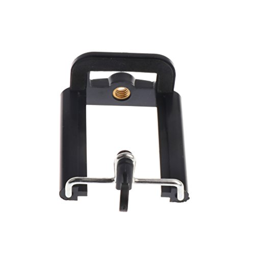 MonkeyJack Stand Clip Bracket Holder Monopod Tripod Mount Adapter for Selfie Stick for Phone Camera iPhone X/ 8/8 Plus 7/ 7 Plus/ 6S/ 6S Plus, Galaxy S7 Edge/ S7 / S8 / S8+ S8 Plus,G6 by MonkeyJack (Image #5)