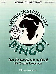 Hal Leonard World Instrument Bingo! (Game/CD)