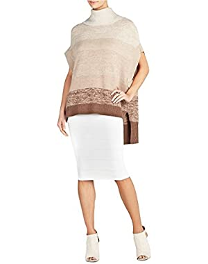 Bcbgmaxazria Elinor Ombre Oversized Boxy Tunic Medium/Large