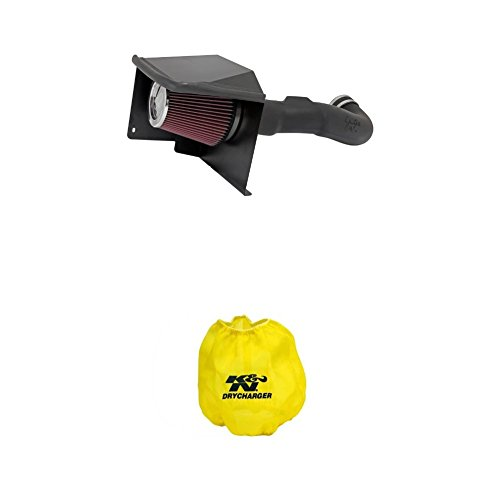 K&N 57-3070 Performance Air Intake System with Yellow Air Filter Wrap