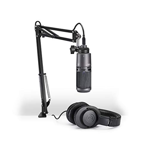 AudioTechnica At2020Usb+Pk Vocal Microphone