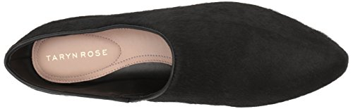 Taryn Rose Womens elene Haircalf Ballet Flat Black UeLDSm