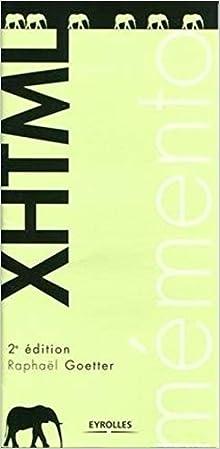 Livre Mémento XHTML