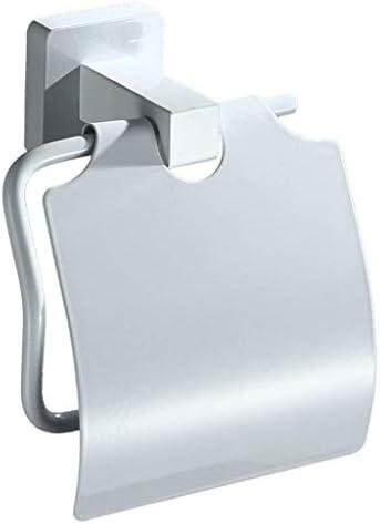 YASE-king ホワイト浴室リールホテルティッシュボックスペーパータオルホルダーステンレス製トイレットペーパーホルダーバスルームのカートン(カラー:WHITE、サイズ:12 * 15 * 7CM / 5 * 6 * 3インチ)