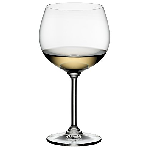 (Riedel Wine Series Crystal Montrachet Chardonnay Wine Glass, Set of 4)