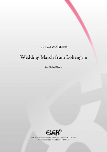 CLASSICAL SHEET MUSIC - Wedding March from Lohengrin - R
