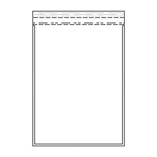 talog Envelope Crystal Clear, Permanent Tape (8.5″ x 11″ Insert Size) - Pack of 50 ()