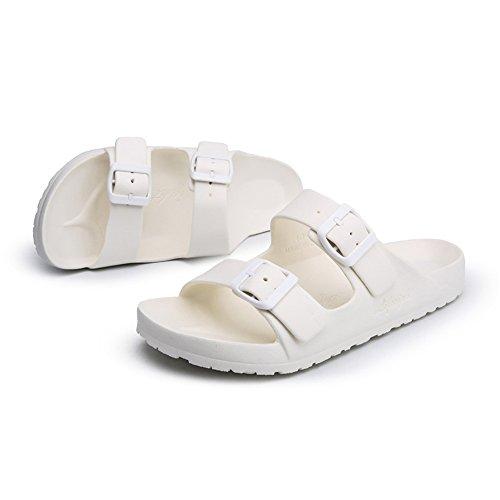 donna a Pantofole petto Heel British 43 EU da shoes fino Bianca Falt Scarpe 47EU alla e Slip Bianca da doppio da Color Shoes On Jiuyue uomo Dimensione uomo taglia Fashion qz5t8xPz6