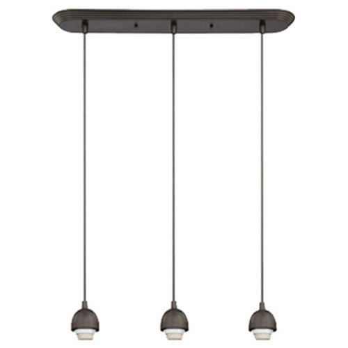 WESTINGHOUSE LIGHTING 6301300 3Lgt BRZ Mini Pendant, ()