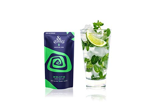 &Stirred Cocktail Mix Mojito - 3 Packs, Pro Bartender Like Mocktails and Drinks, Made from Real Fruit Juice, No Preservatives (B0762JDYQR) Amazon Price History, Amazon Price Tracker
