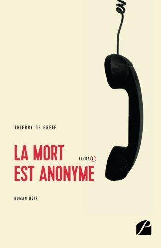 Mort Anonyme [Pdf/ePub] eBook