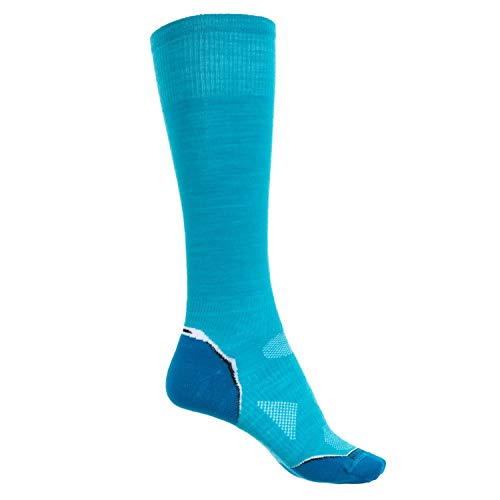 (Smartwool Womens UL Cushion PhD Solid Arctic Blue size M (W7-9.5, M6-8.5))