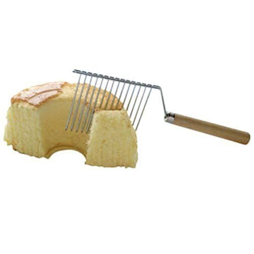 Fox Run Angel Food Cake Cutter Comb Breaker Knife - Cut Without Crushing