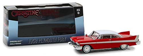 - DIECAST 1:43 Hollywood - Christine (1983) - 1958 Plymouth Fury 86529 by Greenlight