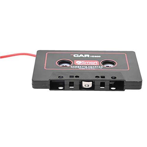 RoxTop Car Stereo Audio Sistemas de Coches Adaptador de Cassette para el tel/éfono m/óvil MP3 AUX B8T5 Negro Color Rojo Duradero
