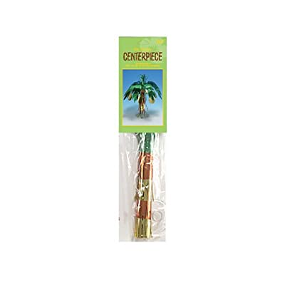 Creative Converting Foil Mini Centerpiece, Luau Coconut Tree: Kitchen & Dining